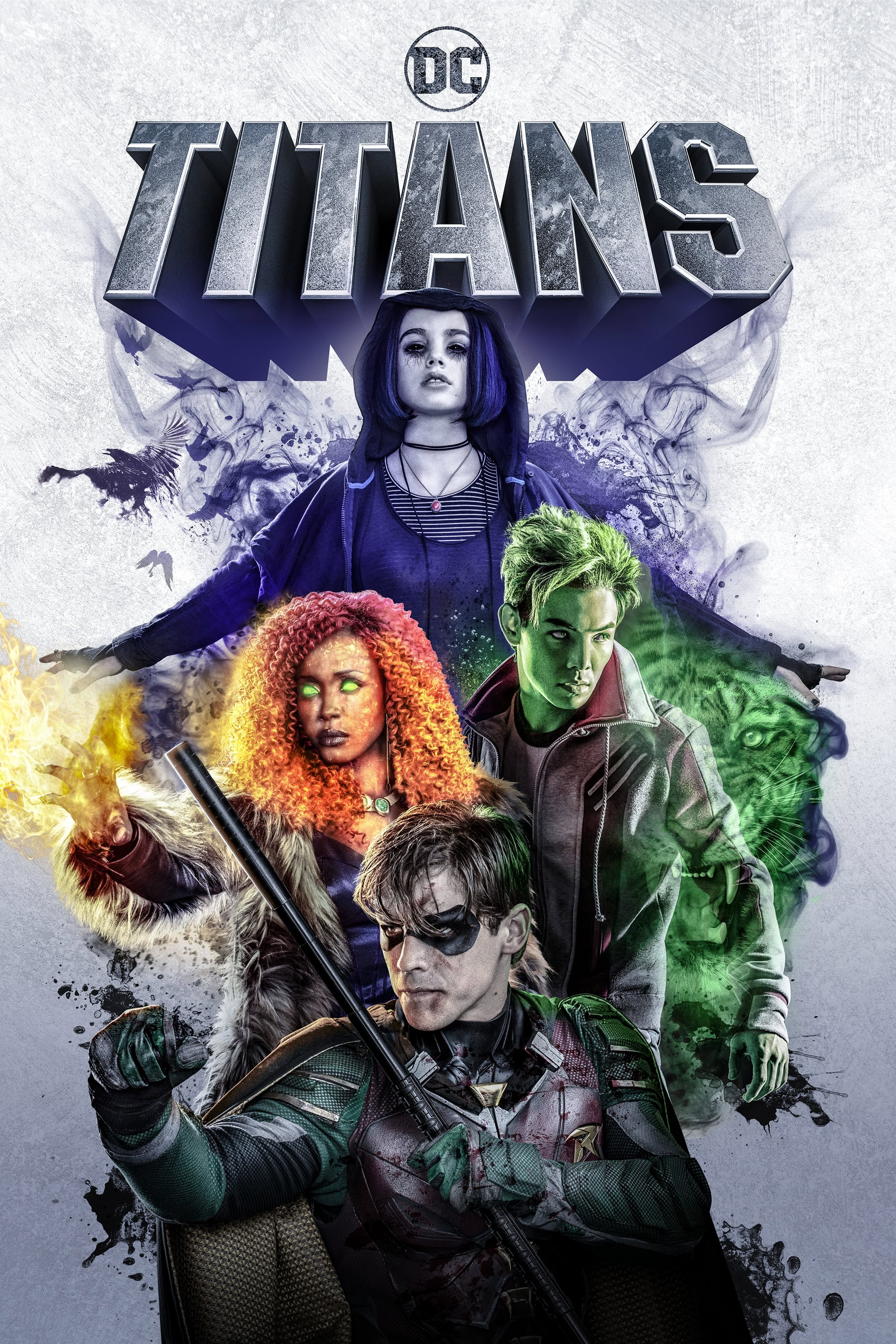 Titans series tv complet