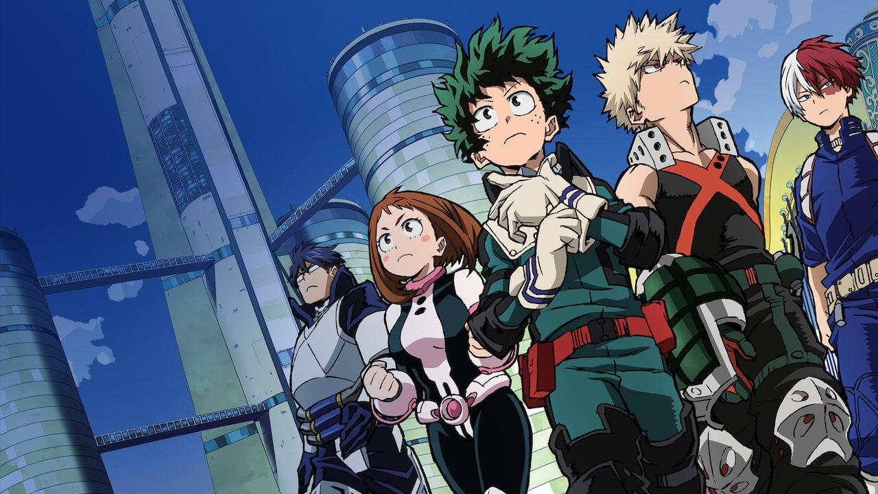 My Hero Academia Dos Heroes