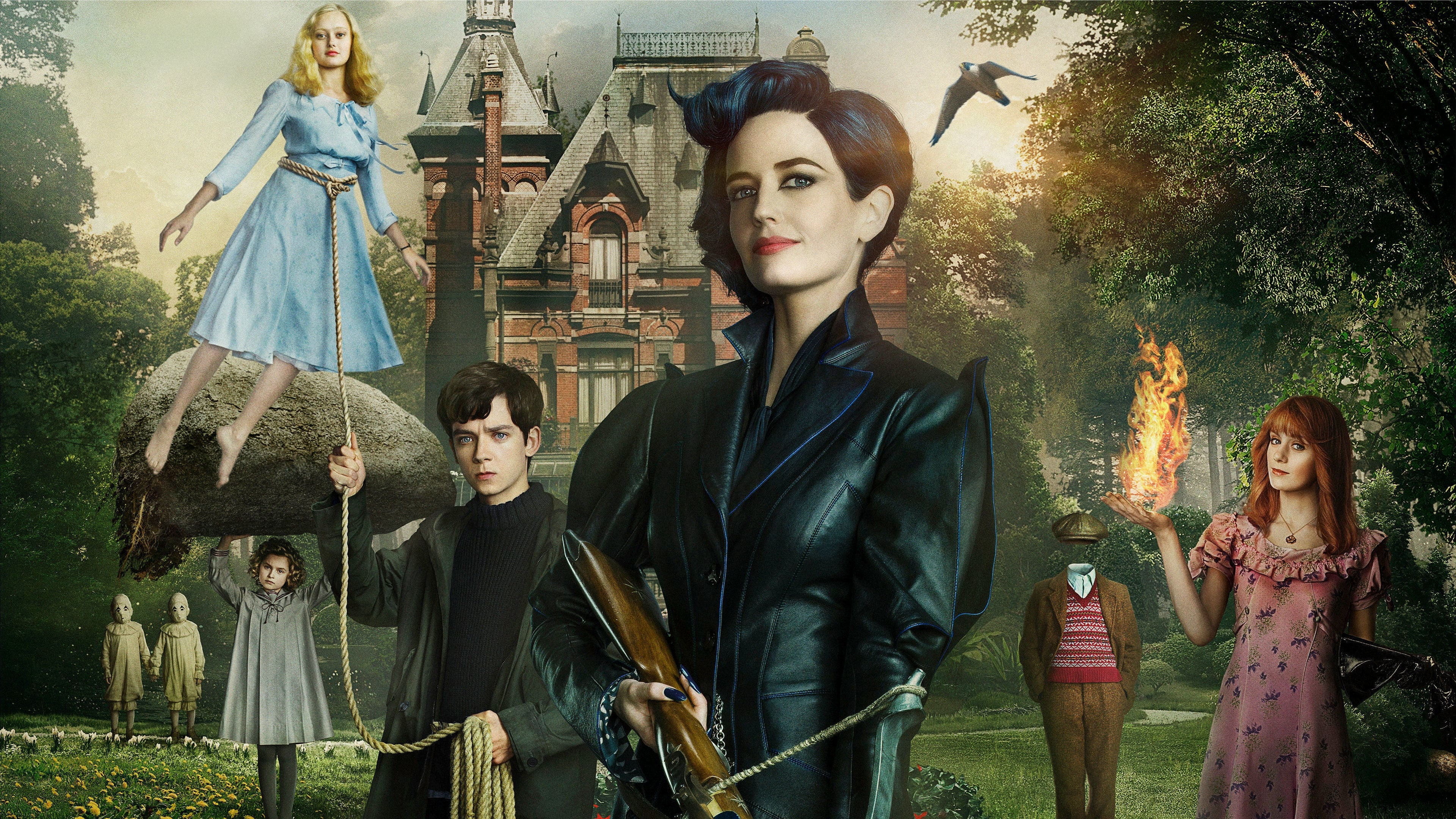 Miss Peregrine's Home for Peculiar Children (2016) 720p BrRip x264 - YIFY