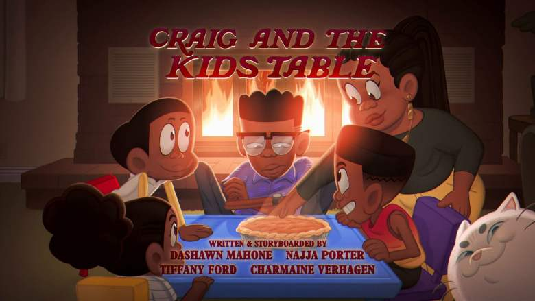 Craig and the Kid's Table