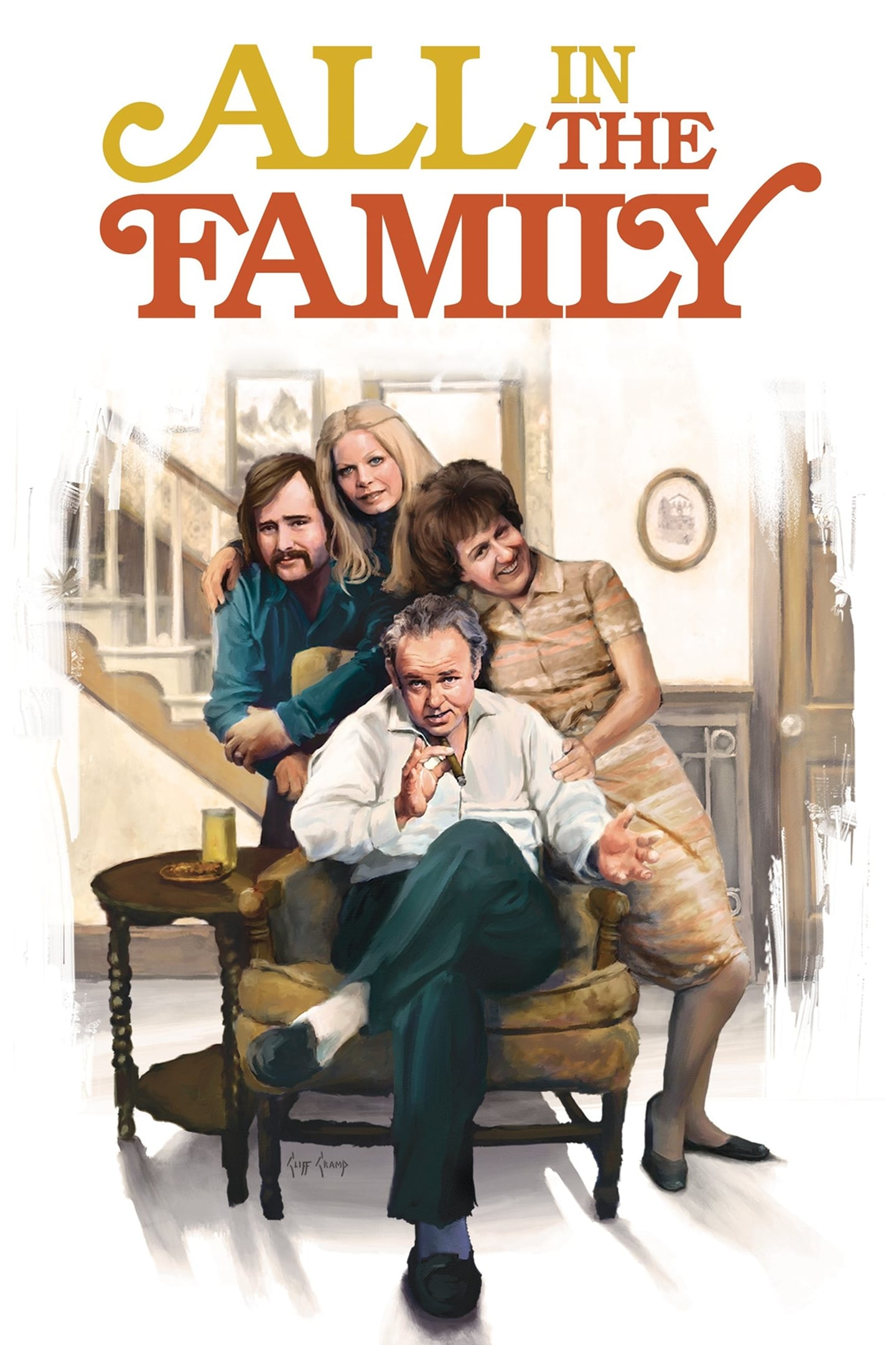 All in the Family series tv complet