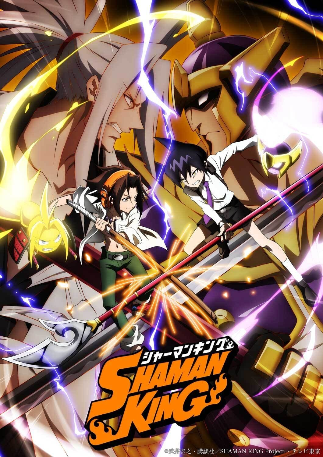 Shaman King series tv complet