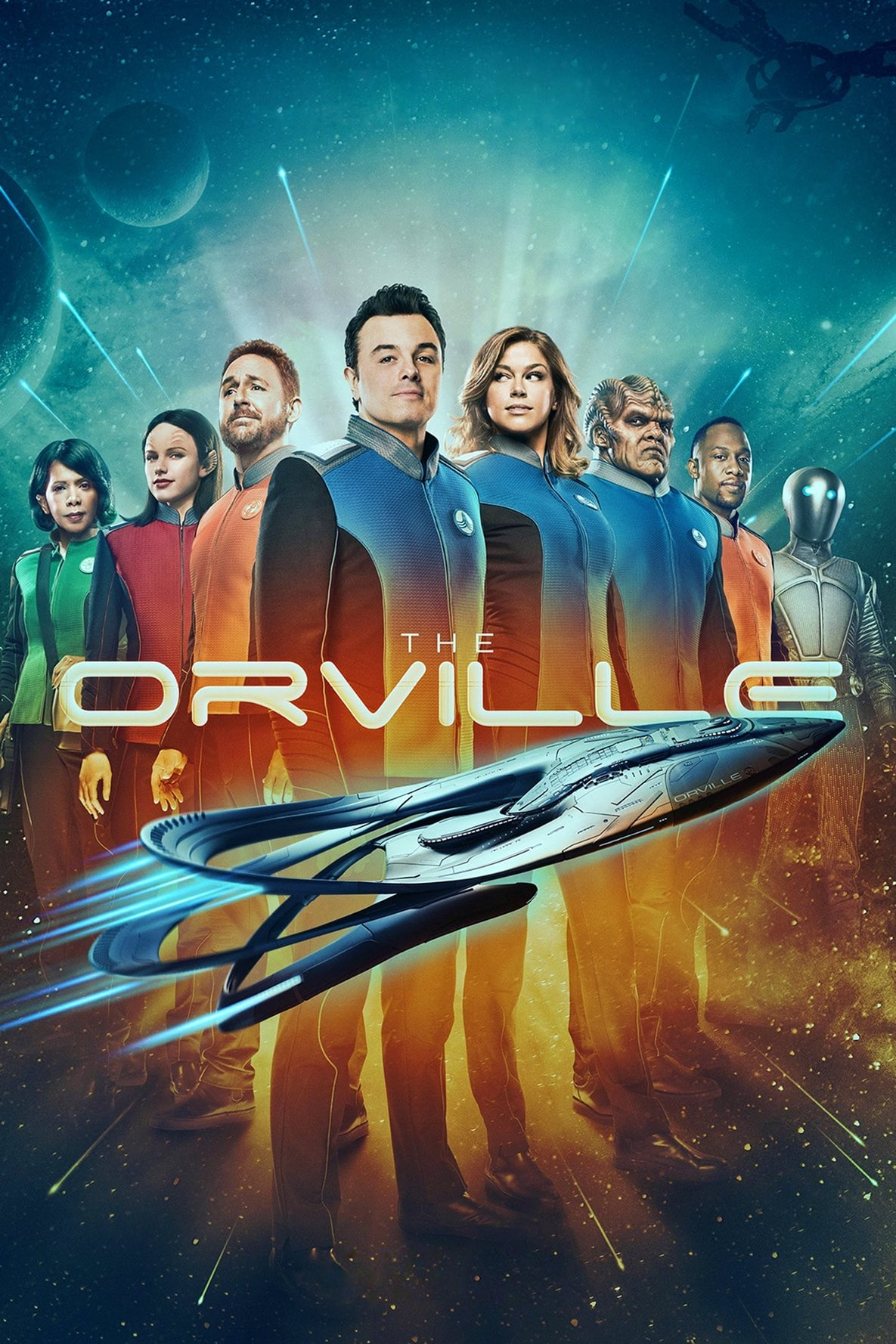 The Orville series tv complet