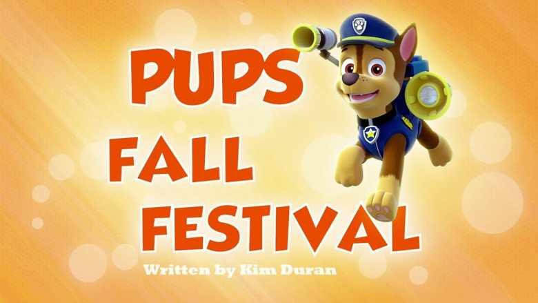 Pups Fall Festival