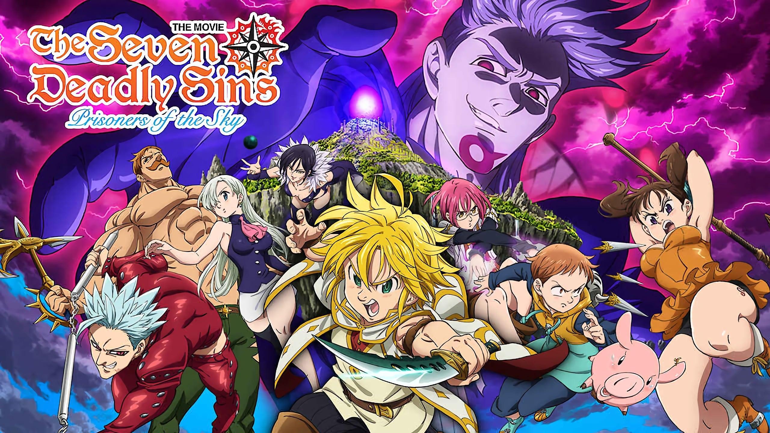 Nanatsu no Taizai Movie 1: Tenkuu no Torawarebito