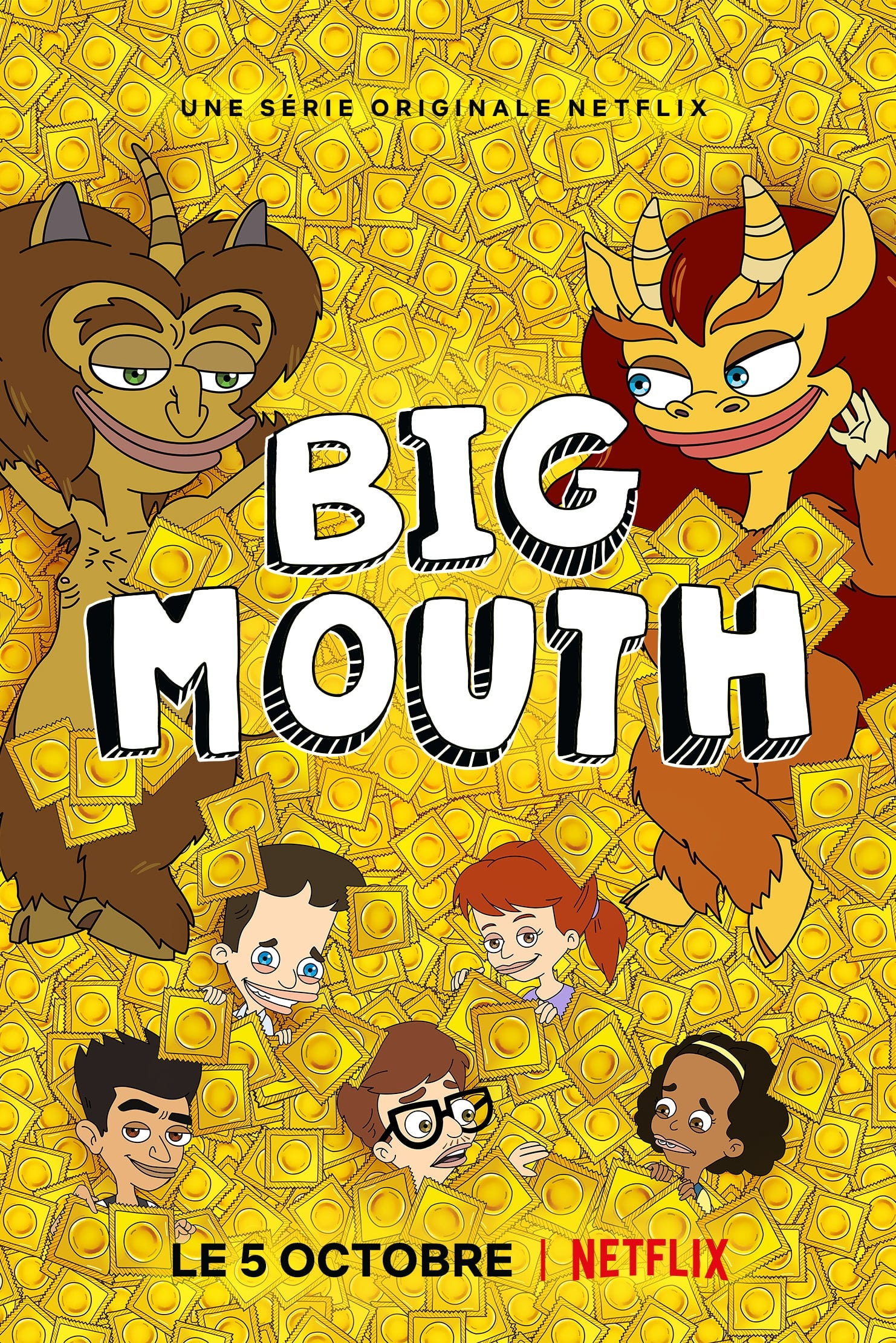 Big Mouth series tv complet