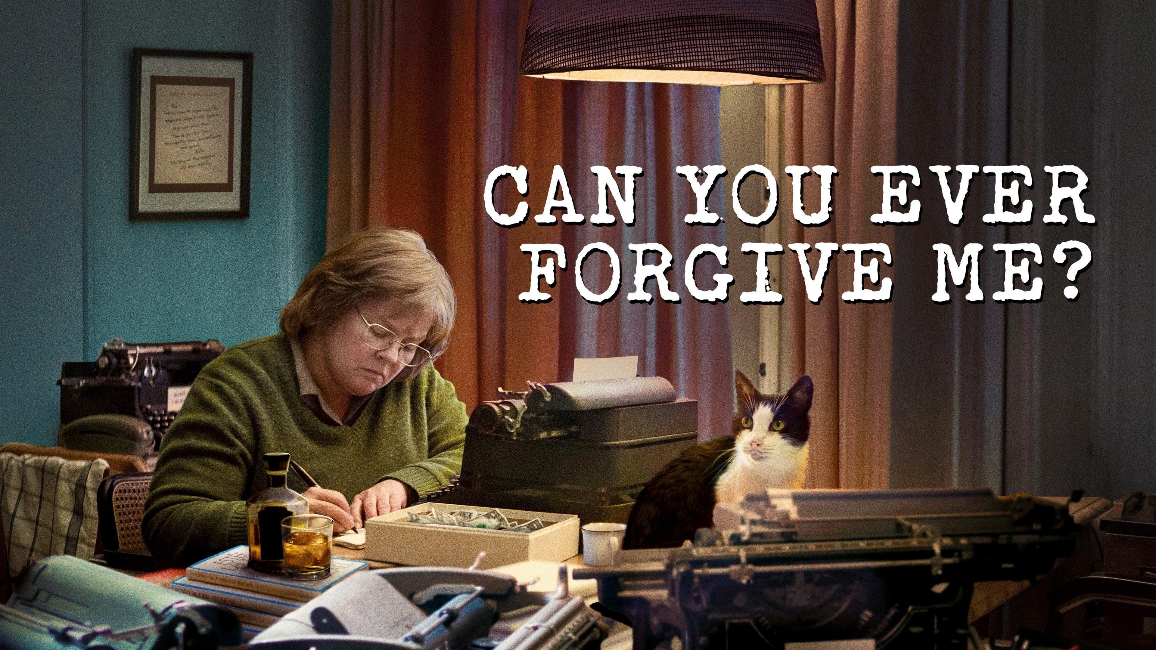 ¿Podrás perdonarme?