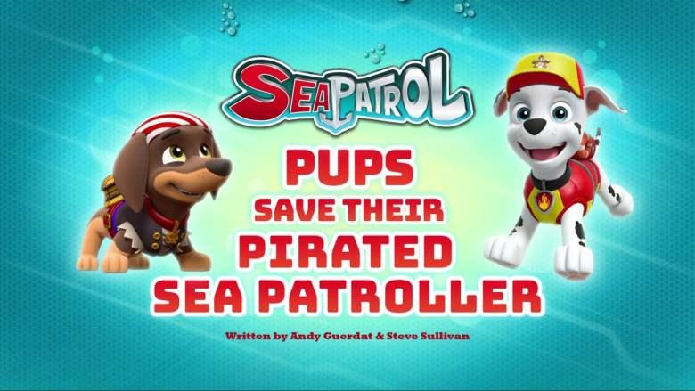 Sea Patrol: Pups Save their Pirated Sea Patroller