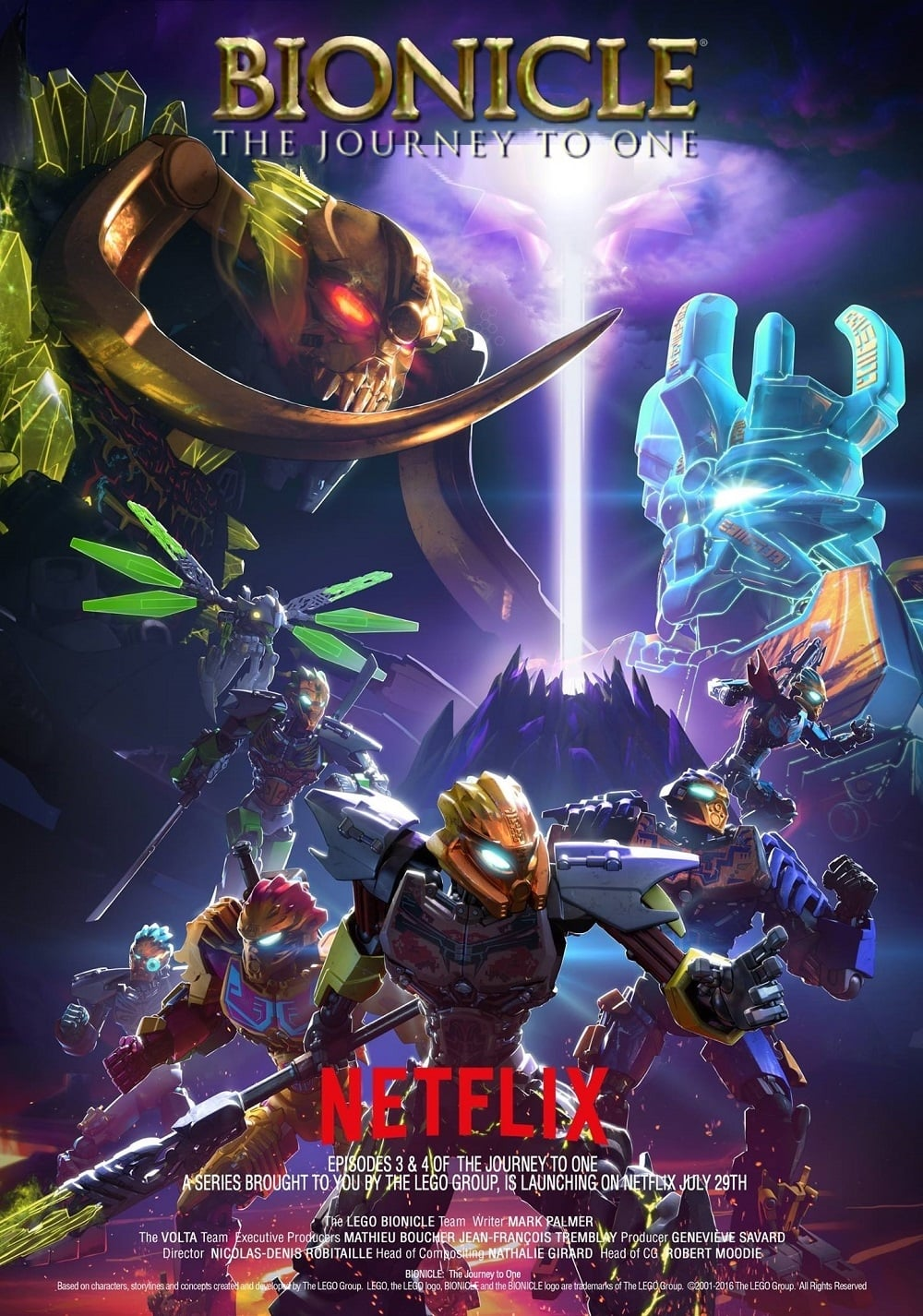 Lego Bionicle: The Journey to One series tv complet