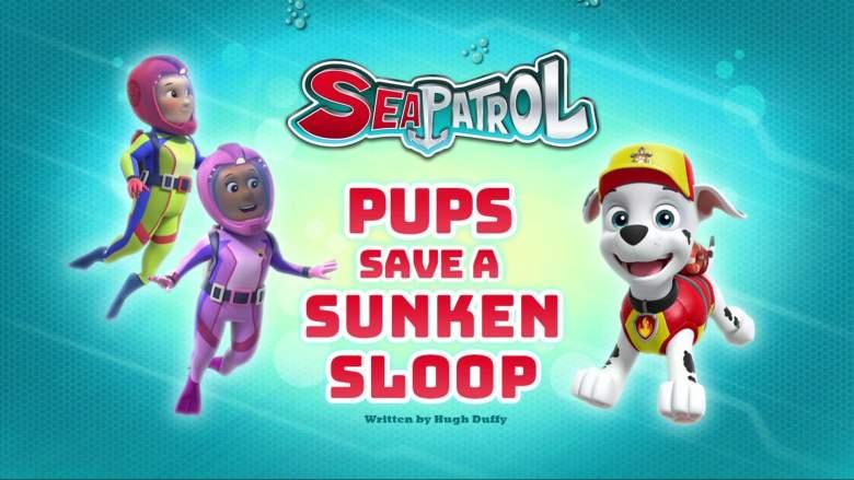Sea Patrol: Pups Save a Sunken Sloop