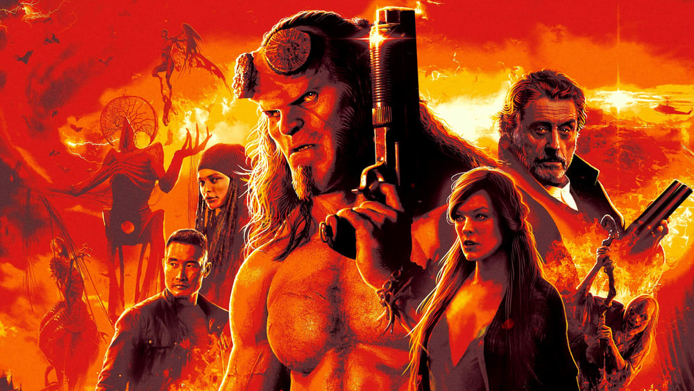 movie Hellboy ( 2019 )