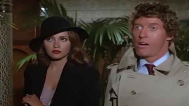 Image result for barbara carrera and oliver reed in condorman