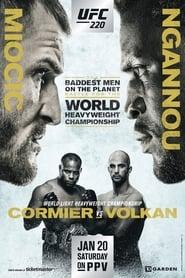 UFC 220: Miocic vs. Ngannou streaming vf