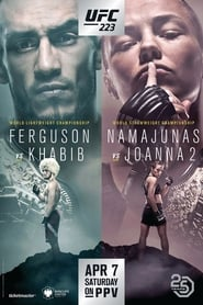 UFC 223: Khabib vs. Iaquinta streaming vf