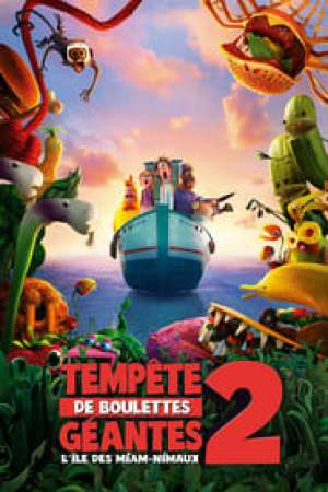 Tempête de boulettes géantes 2 : L'Île des Miam-nimaux