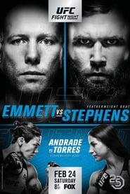 UFC on Fox 28: Emmett vs. Stephens streaming vf