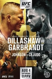 UFC 227: Dillashaw vs. Garbrandt 2 streaming vf