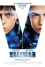 Poster Movie Valerian and the City of a Thousand Planets 2017