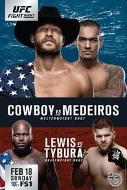 UFC Fight Night 126: Cowboy vs. Medeiros streaming vf