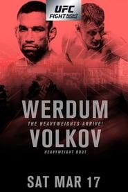 UFC Fight Night 127: Werdum vs. Volkov streaming vf