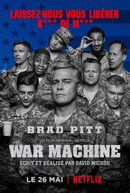 Poster Movie War Machine 2017
