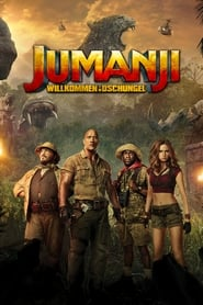 Poster Movie Jumanji: Welcome to the Jungle 2017