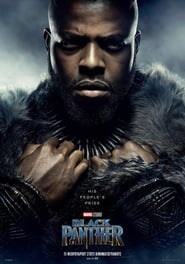 Poster Movie Black Panther 2018