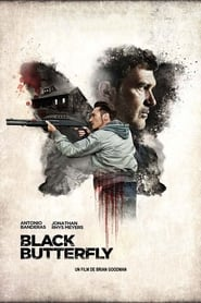 Black Butterfly Poster