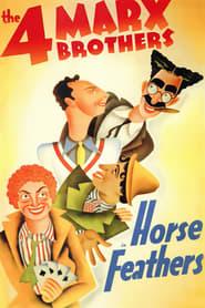 Plumes de cheval Poster