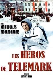 Les héros de Télémark Poster