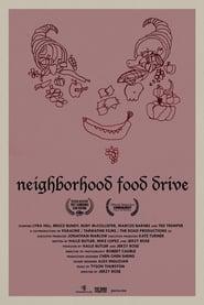 Neighborhood Food Drive Poster