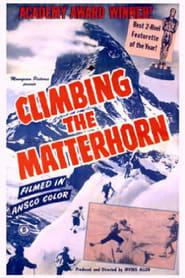 Climbing the Matterhorn Poster