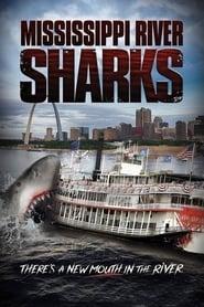 Mississippi River Sharks Poster