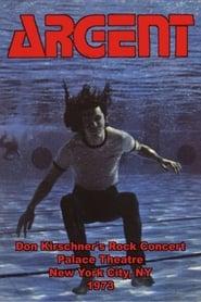 Argent - Don Kirschner's Rock Concert 1973 Full online