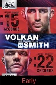 UFC Fight Night 138: Volkan vs. Smith - Early Prelims streaming vf