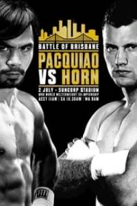 Manny Pacquiao vs. Jeff Horn streaming vf