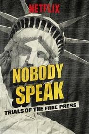 Le procès d'une presse libre Poster