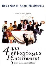 Quatre mariages et un enterrement streaming vf