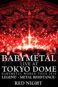 Babymetal - Live at Tokyo Dome: Red Night - World Tour 2016 Poster