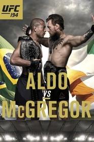 UFC 194: Aldo vs. McGregor Poster