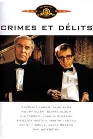 Crimes et délits Poster