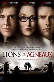Lions et agneaux Poster