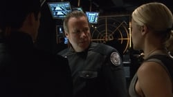Watch The Captain's Hand - TV Series Battlestar Galactica (2004) Season 2 Episode 17
