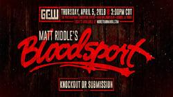 Download and Watch Full Movie Matt Riddle's Bloodsport (2018)