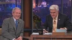 Watch George W. Bush, Jewel - TV Series The Tonight Show with Jay Leno (1992) Season 18 Episode 171