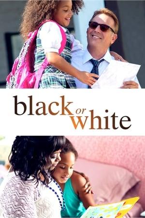 Poster Movie Black or White 2014