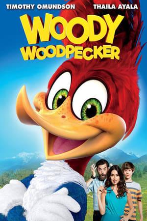 Poster Movie Woody Woodpecker 2017