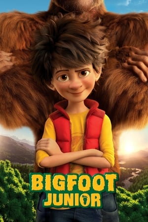 Poster Movie The Son of Bigfoot 2017