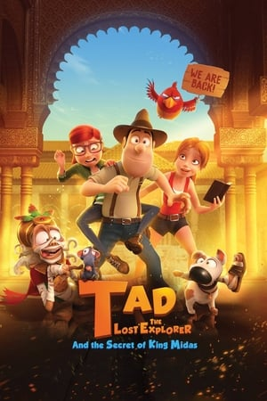 Poster Movie Tad the Lost Explorer and the Secret of King Midas 2017