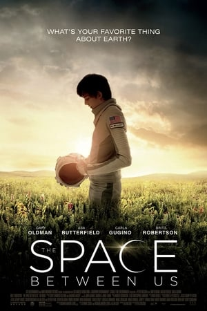 Poster Movie The Space Between Us 2017